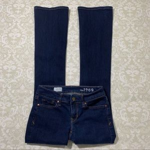 Gap women's 'sexy boot' jeans size 00
